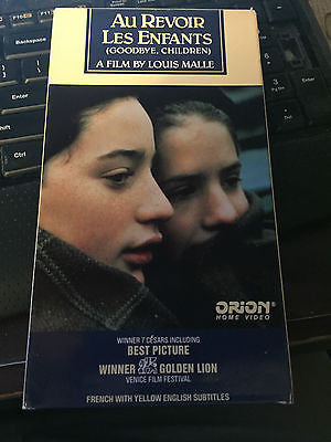Au Revoir Les Enfants [Goodbye, Children] [VHS] shipping included!