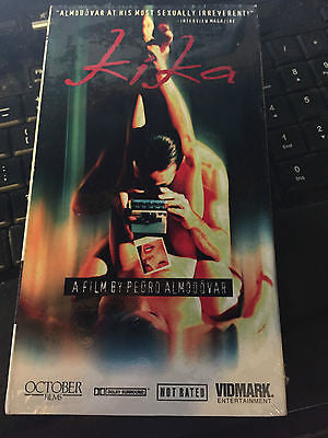 Kika Pedro Almodóvar subtitles [VHS] NEW / factory sealed. shipping included!