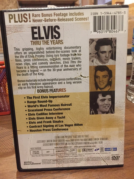 Never-Before-Reieased Scenes! gripping, behind-the-scenes Presley films, conferences, outtakes, clips, sketches dvd