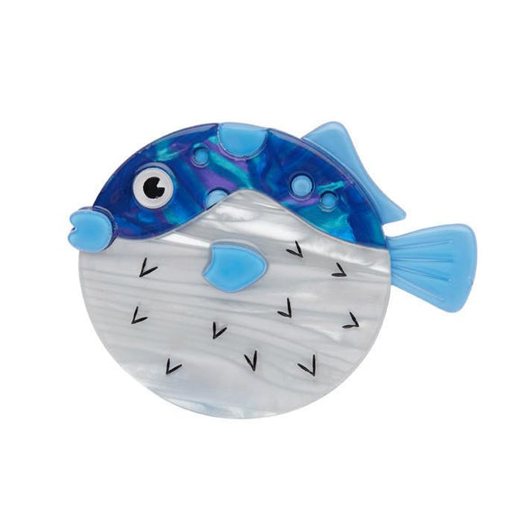 FUN LOVING FUGU BROOCH ~ Erstwilder