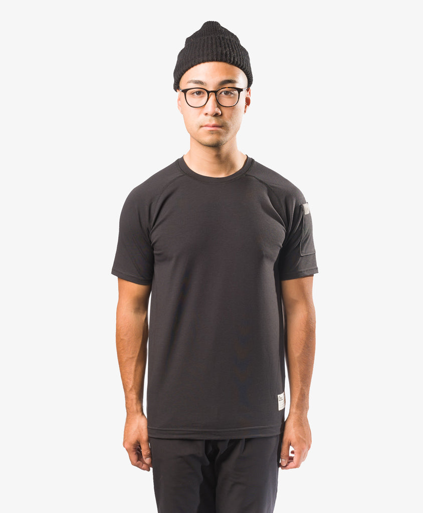 Crew Apparel All Day Tee Black