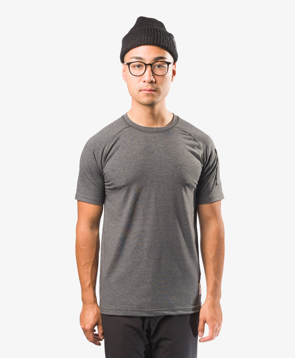 Crew Apparel All Day Tee Grey