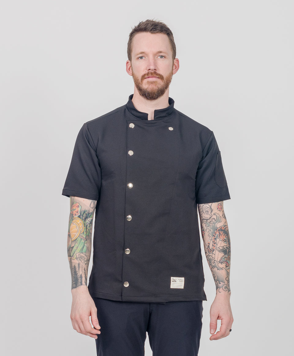 Midtown Chef Coat Black