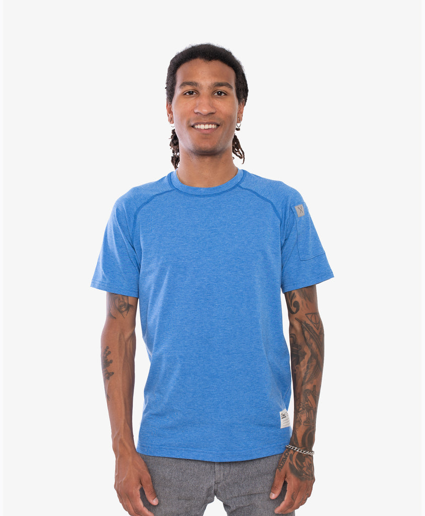 Crew Apparel All Day Tee Blue