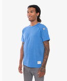 All Day Tee Blue with CrewTech Fabric