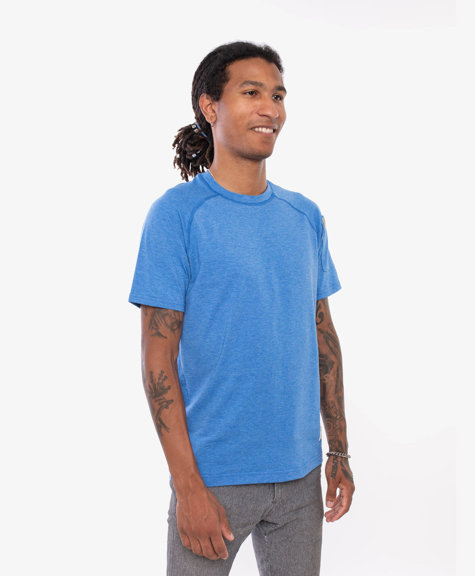 crewtech chef tee Blue