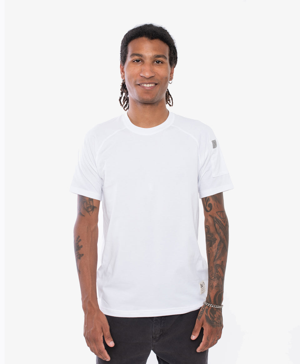 Crew Apparel All Day Tee White