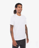 Crew Apparel All Day Tee Alpine White- Side Angle