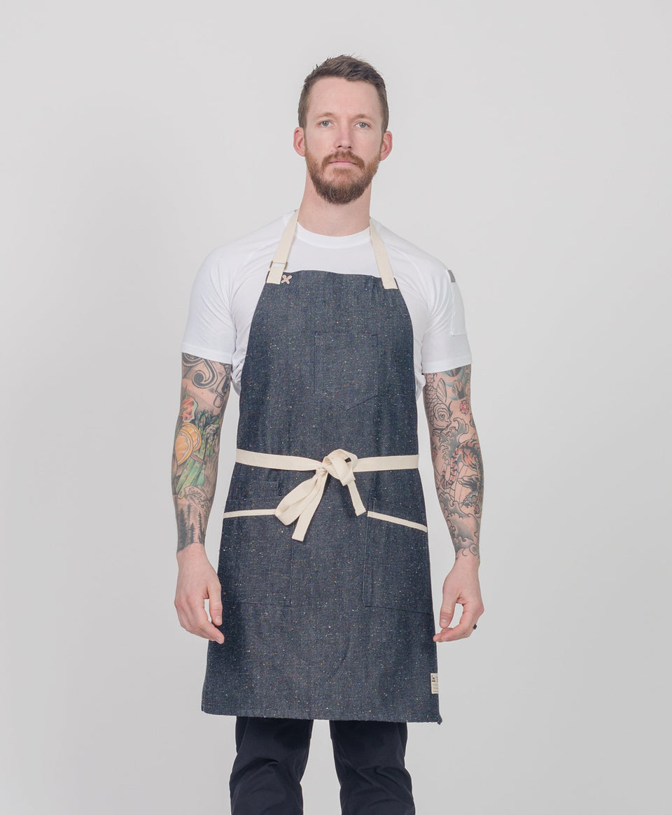 Crew Apparel Denim Apron Customize Made in LA