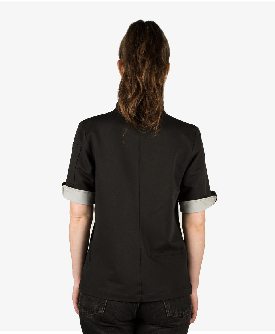 The Stephany Women's Chef Coat Moisture Wicking Fabric