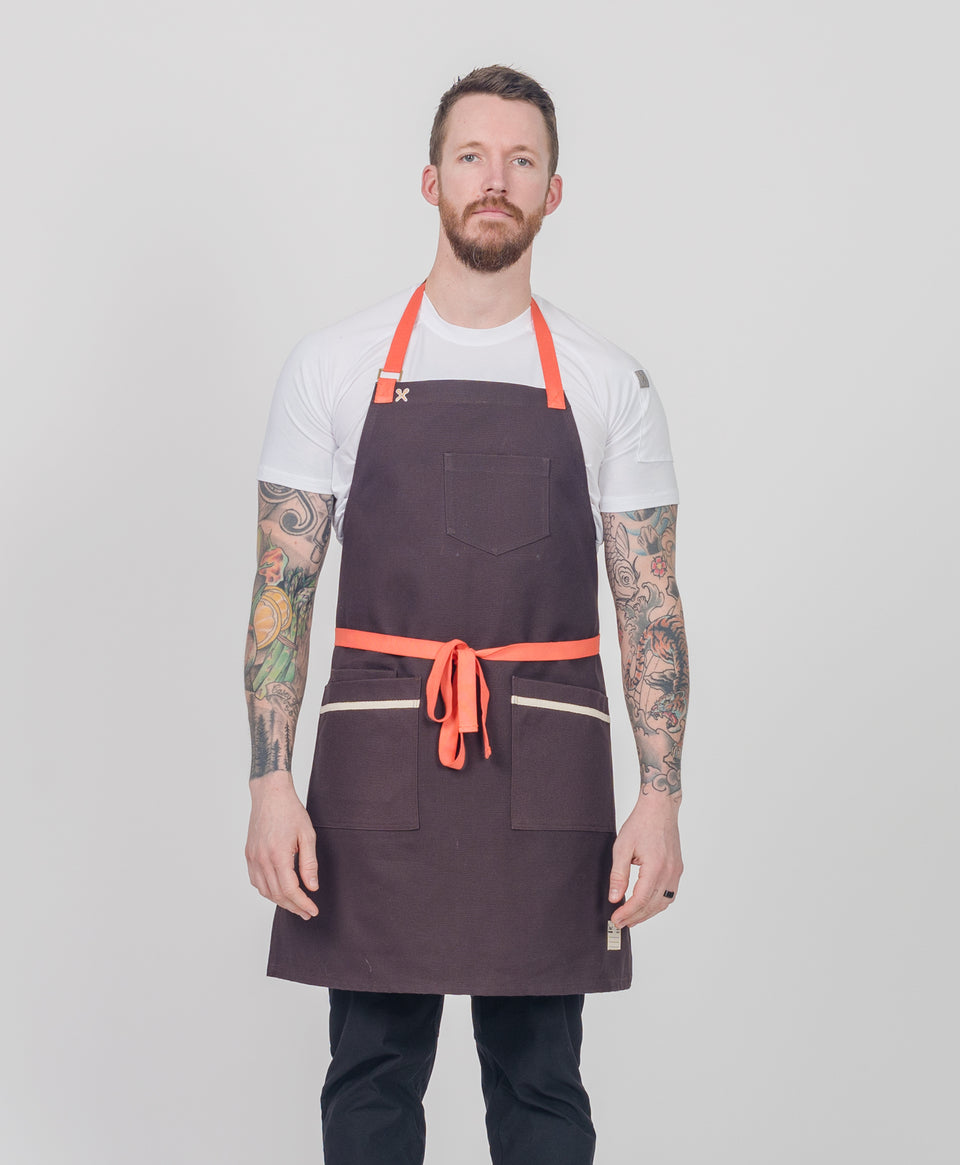 Tobacco Canvas Apron