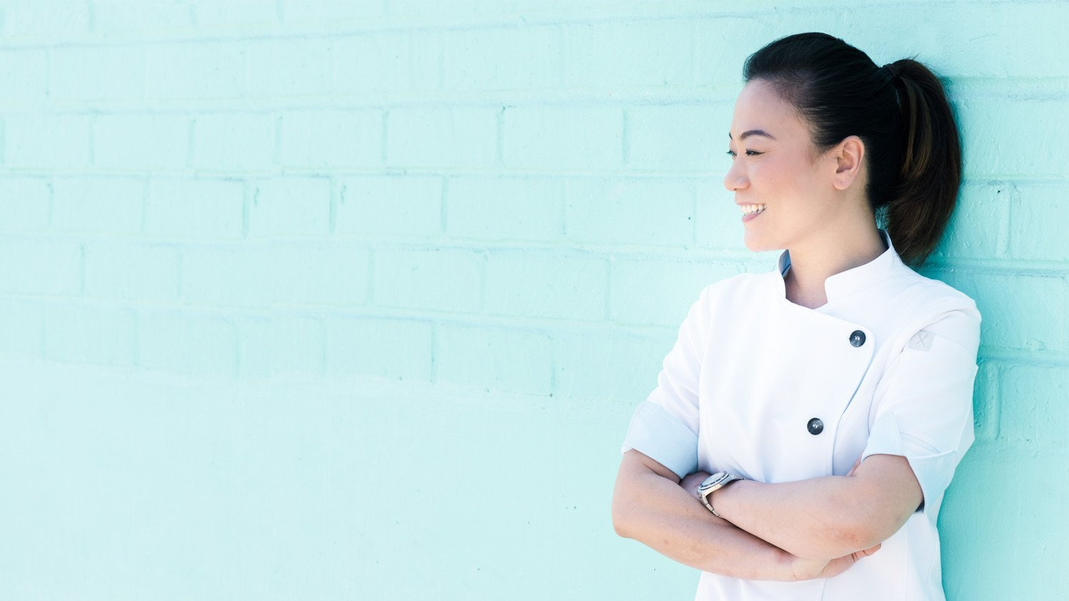 top chef Shirley Chung Stephany chef coats