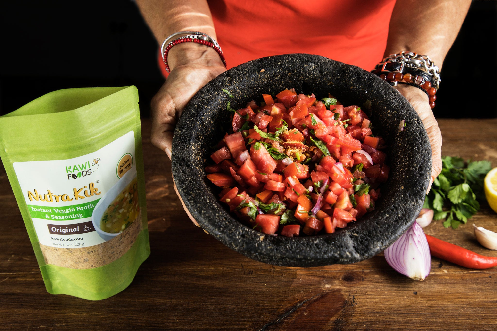 Pico de gallo, kawifoods, recipes, natural