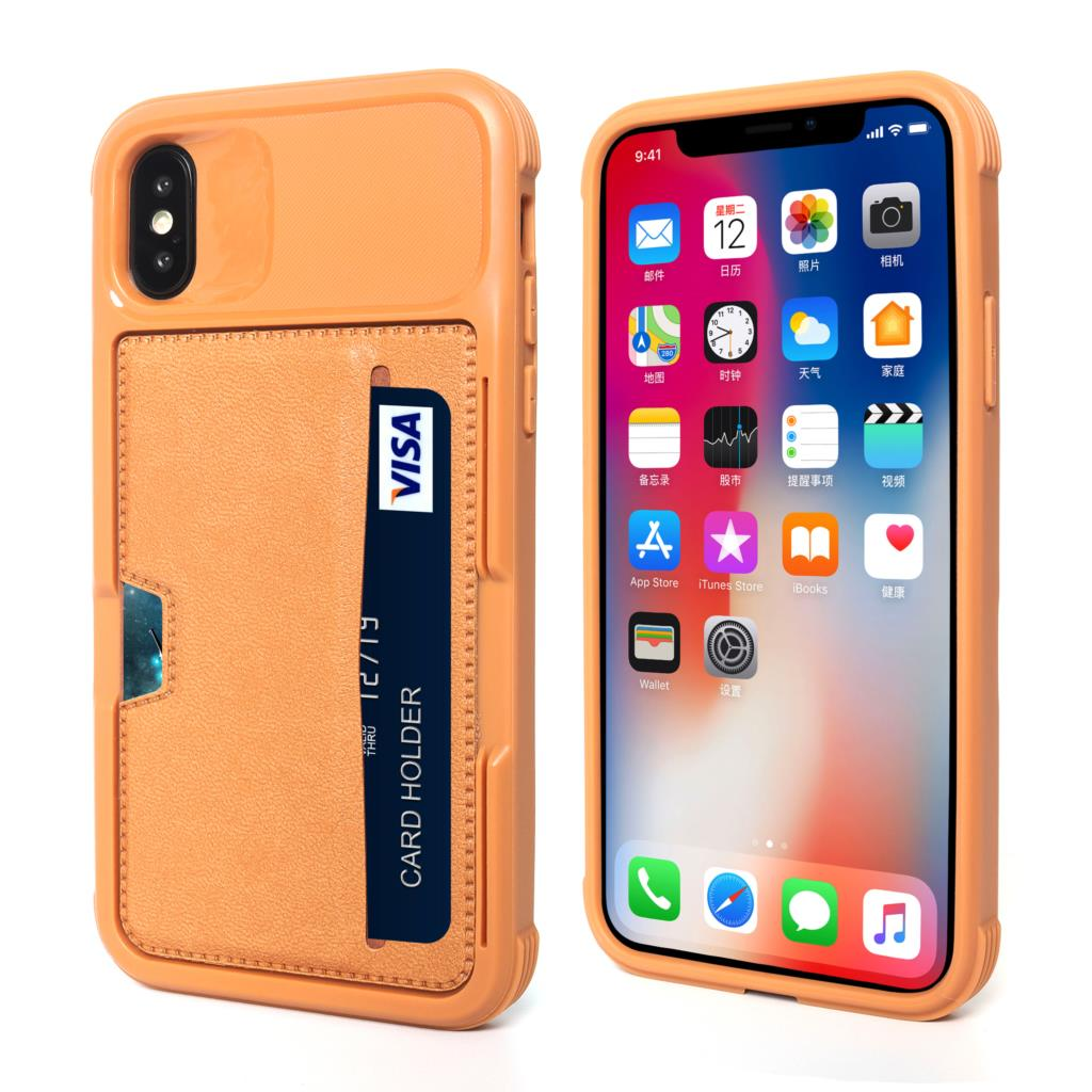 best loved 3690e f7170 For iPhone 8 8 Plus Wallet Case with Credit Card Holder Slim Leather ...