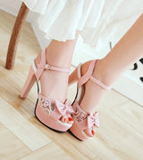 Bridal platform  Heels. Wedding high heel  Pumps