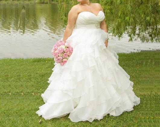 Organza Wedding Dresses at Bling Brides Bouquet - Online Bridal Store