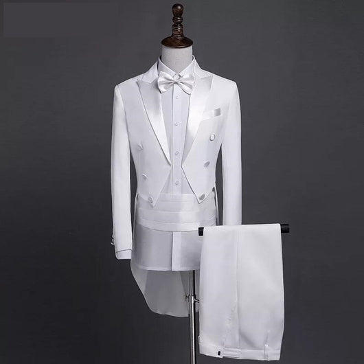 Mens Classic wedding Tuxedo Grooms wedding suit