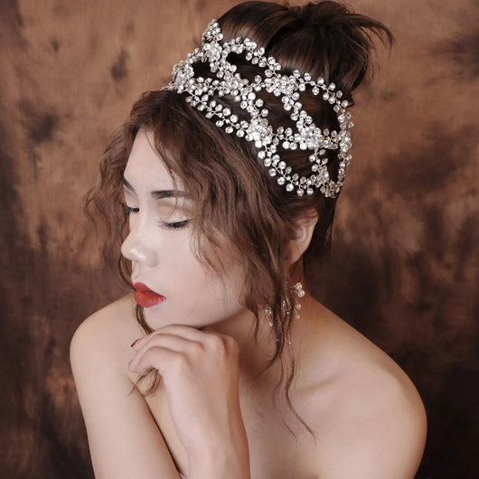 Wedding Bridal  Crown Tiara Fashion bridal Hairband