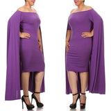 plus sized cape dress/baby shower dress/party dress at Bling Brides Bouquet- Online bridal store
