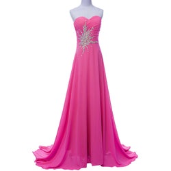 Chiffon Bridesmaid /Prom /Evening  Dress at Bling Brides Bouquet Online Bridal Store