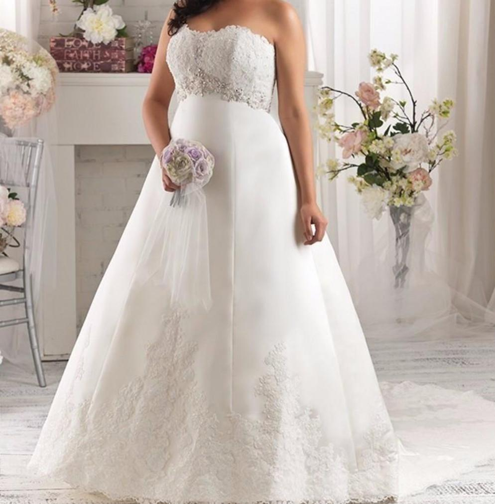 Empire Waist Maternity Wedding Dresses At Bling Brides