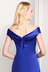 Plus sized Satin Mermaid Bridesmaids evening Dresses at Bling Brides Bouquet
