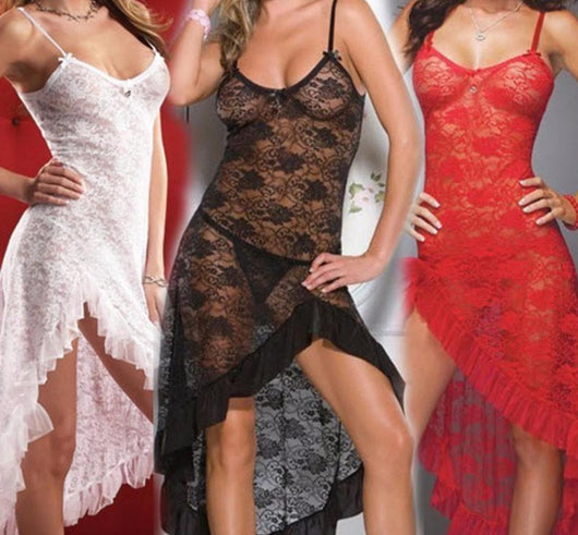 24e1be14705 ... Plus Size Sexy bridal Lingerie Babydoll Chemise Long Sexy Night gown ...
