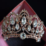 Peacock Wedding Tiara in five colors at Bling Brides Bouquet