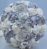 Crystal Rhinestone Bridal Wedding Bouquet Bling Custom Bridal Bouquet