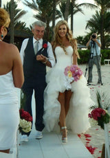 High low Wedding Dresses  Beach wedding dress