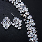 Wedding Accessories African Jewelry Sets Crystal Bridal Necklace For Brides
