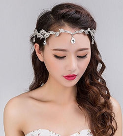 Rhinestone Tiara Crown Headband at Bling Brides Bouquet online bridal store