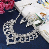 Choker Necklace Earring Jewelry Set at Bling Brides Bouquet  - Online Bridal Store