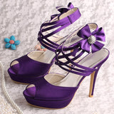 Bridal Sandals /Wedding Shoes at Bling Brides Bouquet Online Bridal Store