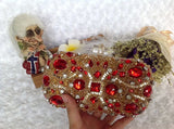 Diamond Beading Evening Clutch Bag Wedding Evening Bags clutch purse