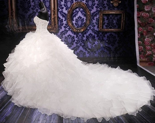 Wedding Gowns With Bling: Ball Gown Wedding Dress At Bling Brides Bouquet Online