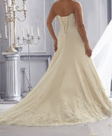 Sweetheart Lace Wedding Gown  at Bling Brides Bouquet online Bridal Store