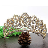 Peacock Wedding Tiara, Bling Brides Bouquet - Online Bridal Store