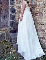 Plus Size Bridal Gown , Beach Wedding Dress at Bling Brides Bouquet online Bridal Store