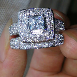 Bling Wedding Rings at Bling Brides Bouquet Online bridal store
