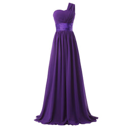 One Shoulder Bridesmaid dresses at Bling Brides Bouquet online Bridal Store