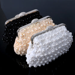 Beaded women evening handbag,  wedding bridal handbag