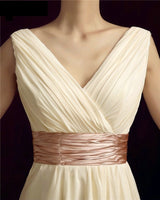 Pleat Chiffon Mother Of The Bride Dress at Bling Brides Bouquet online Bridal Store