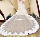Long Sleeved Lace Wedding Dress /Ball Gown at Bling Brides Bouquet - Online Bridal Store
