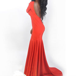 Bodycon Sexy maxi Dress At Bling Brides Bouquet - Online Bridal Store