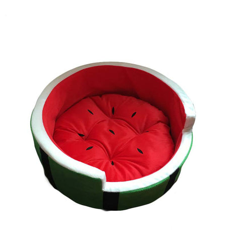 watermelon pet bed