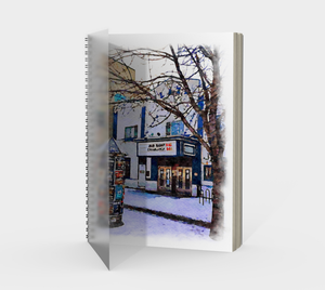 Kensington Plaza Theatre Spiral Notebook