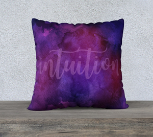 "Intuition Pillowcase – 22"" x 22"""