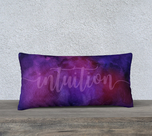 "Intuition Pillowcase – 24"" x 12"""