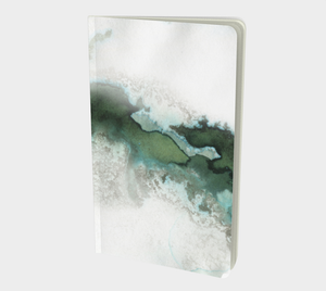 Green Marble Notebook Small